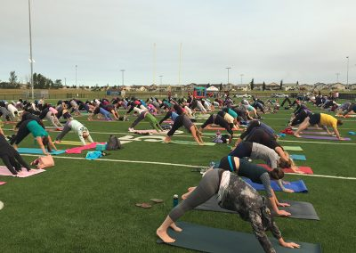 mats for meta. outdoor yoga fort mac