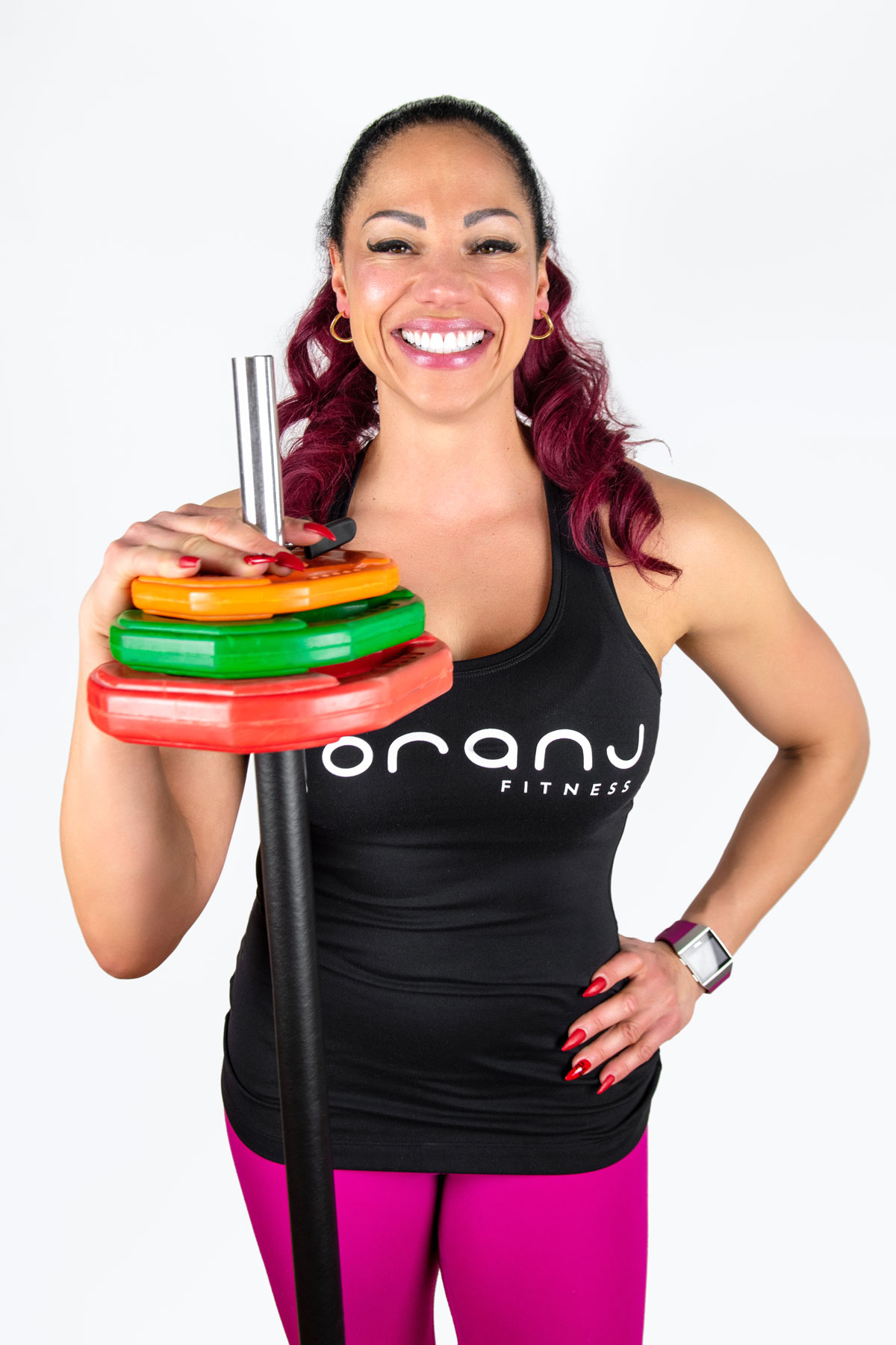 Naticia MacDougall from Oranj Fitness