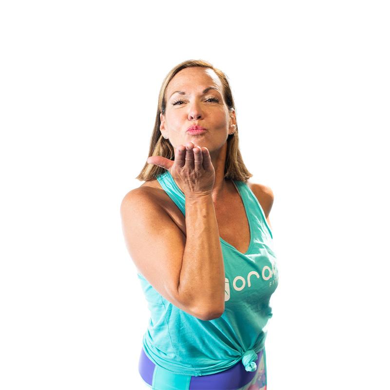 Joanne Gagne Oranj Fitness Penticton Instructor