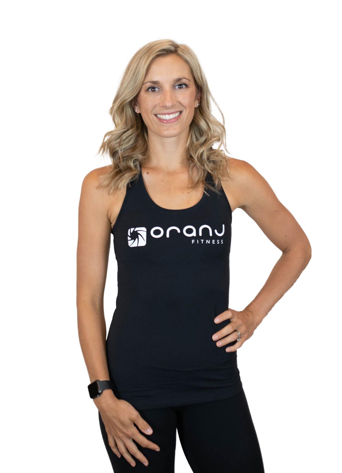 Jen Linton oranj fitness